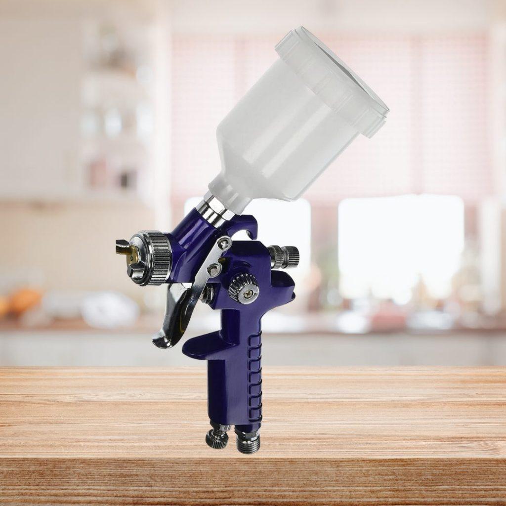 NEIKO 31207A HVLP Mini Gravity Feed Air Spray Paint Gun