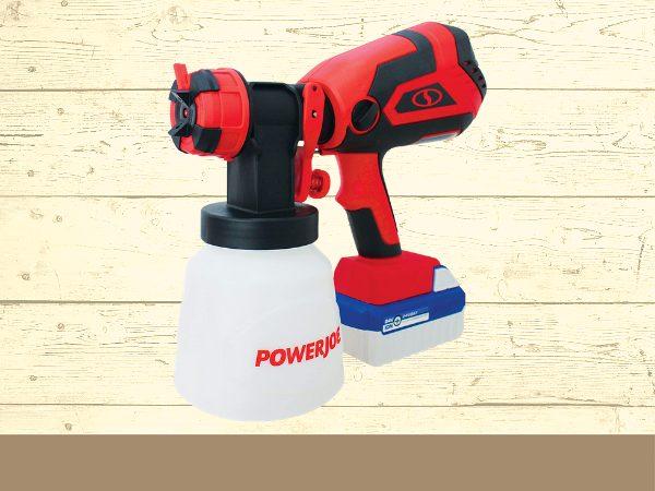 Sun Joe 24V-PS1 24-Volt Amp Cordless HVLP Handheld Paint Sprayer