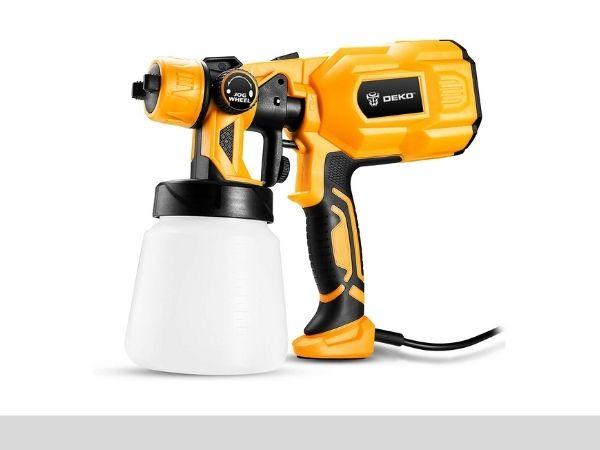 DEKOPRO Paint Sprayer, 550 Watt High Power HVLP-sprayerinfo.com