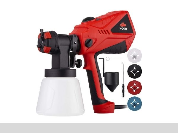 NoCry 1200mlmin Electric Paint Sprayer-sprayerinfo.com