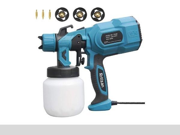Rrtizan paint sprayer, 800 W High power sprayer gun-sprayerinfo.com