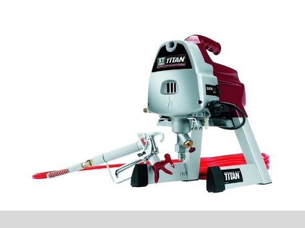 Titan 0516011 XT250 Airless Paint Sprayer, 25' Airless Hose-sprayerinfo.com