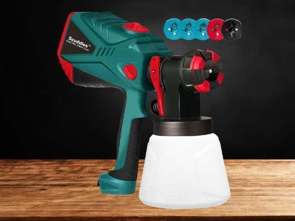 Scuddles Paint Sprayer, 1200 Watt High Power HVLP